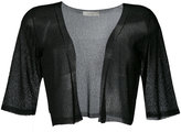 D-Exterior D.Exterior - cropped sheer cardigan - women - Polyamide/Viscose - M