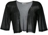 D-Exterior D.Exterior - cropped sheer cardigan - women - Polyamide/Viscose - XL