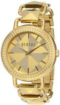 Versus By Versace Women's SOA040014 Coconut Grove Analog Display Quartz Gold-Tone Watch