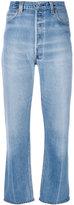 RE/DONE cropped pants - women - Cotton - 25