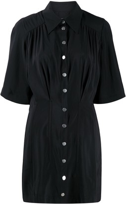 BA&SH Cara mini shirt dress