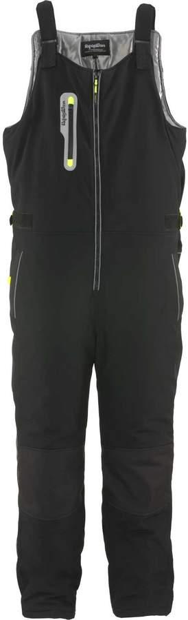Refrigiwear Men's Extreme Softshell High Bib Pant Black XL