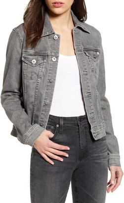 AG Jeans Robyn Crop Denim Jacket