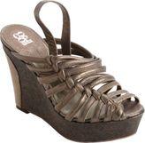 Barneys New York CO-OP Slingback Platform Wedge Sandal
