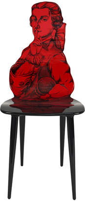 Fornasetti Don Giovanni Chair - Red