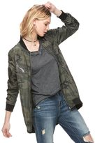 Rock & Republic Women's Camo Bomber Jacket