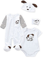 Starting Out Baby Boys Newborn-3 Months 3-Piece Puppy Layette Collection