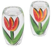 Kosta Boda Pair of Tulipa Candlesticks
