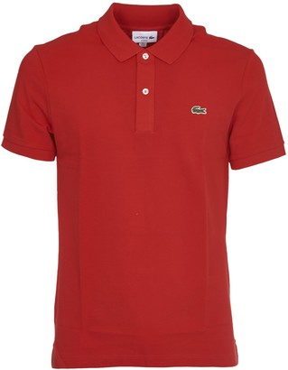 Lacoste Red Slim Fit Polo