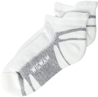 Wigwam Thunder Pro Low-Cut (White) Crew Cut Socks Shoes