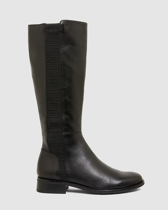 Jane Debster - Women's Black Knee-High Boots - Ignite - Size One Size, 37 at The Iconic