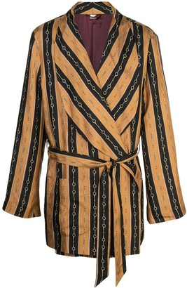 Gucci Printed Dressing-Gown Jacket