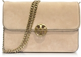 Tory Burch Chelsea Stucco Suede Shoulder Bag