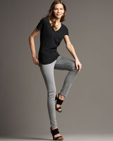 Skinny Jeans, Smoke Gray