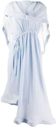J.W.Anderson draped drawstring dress