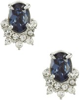 Carolee Imperial Sky Mini Oval Stud Earrings