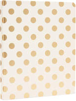 Kate Spade Gold Pavilion Spiral Notebook