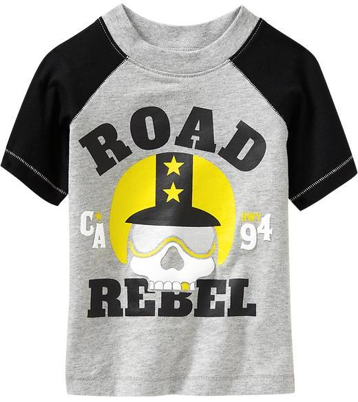 "Old Navy ""Road Rebel"" Tees for Baby"