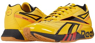 Reebok Futsal Fusion (Fierce Gold/Black/Radiant Red) Athletic Shoes