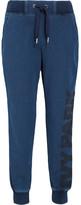 Ivy Park Cotton-blend Jersey Track Pants - Navy