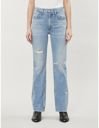 Citizens of Humanity Lillie skinny high-rise stretch-denim jeans