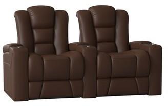 Home Theater Row seating Latitude Run Body Fabric: Classic Cappucino