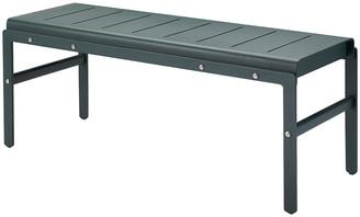 Skagerak - Reform Aluminium Bench - Hunter Green