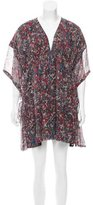 IRO Silk Printed Dress w/ Tags