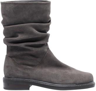 Stuart Weitzman Grey Suede Boots