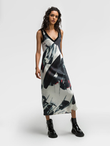 DKNY Satin Slip Dress