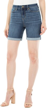 Liverpool Kristy High Waist Rolled Shorts