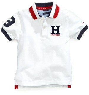 Tommy Hilfiger Boys Short Sleeve Basic Polo