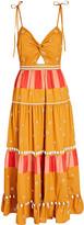 Ulla Johnson Kali Shell-Embellished Cotton Dress