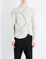 Rick Owens Trunk-overlay Cotton Top