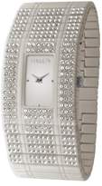 Haurex Italy Women's GX368DGG Honey White Swarovski Watch