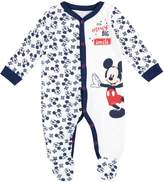 Disney Mickey Mouse Baby Boys' Mickey Mouse Footies Size 9-12M
