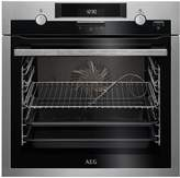 AEG BCS552020M 60cm Electric Built-in Single Oven - Stainless Steel