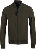 Cp Company Moss Green Soft Shell Watchviewer Jacket