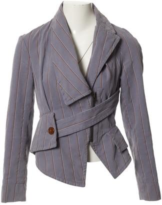 Vivienne Westwood Grey Velvet Jackets