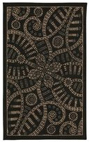 Waverly Color Motion Belle Of The Ball Licorice Area Rug by Nourison (2'3 x 3'9)