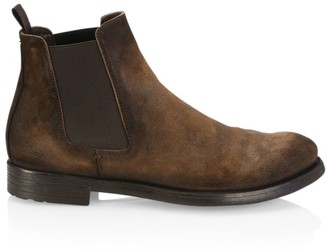 Officine Creative Hive Suede Chelsea Boots