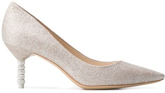Sophia Webster coco crystal low-heel pumps