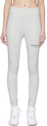 Essentials Grey Compression Leggings
