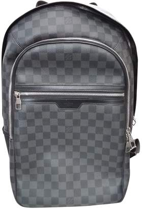 Louis Vuitton Michael Backpack Anthracite Cloth Bags