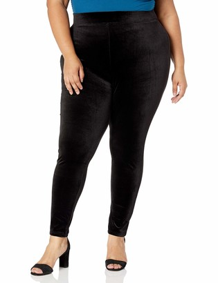 Forever 21 Women's Plus Size Velvet Leggings