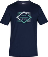 Hurley Men's Divided Premium Graphic-Print Logo T-Shirt