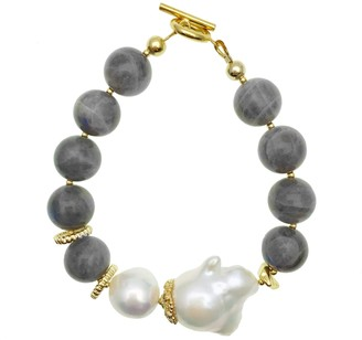 Farra Baroque & Labradorite Bracelet