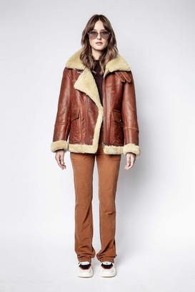 Zadig & Voltaire Kain Shearling Jacket