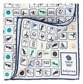 Thomas Pink Tomkins Print Pocket Square