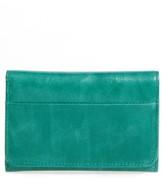 Hobo Women's 'Jill' Trifold Wallet - Green